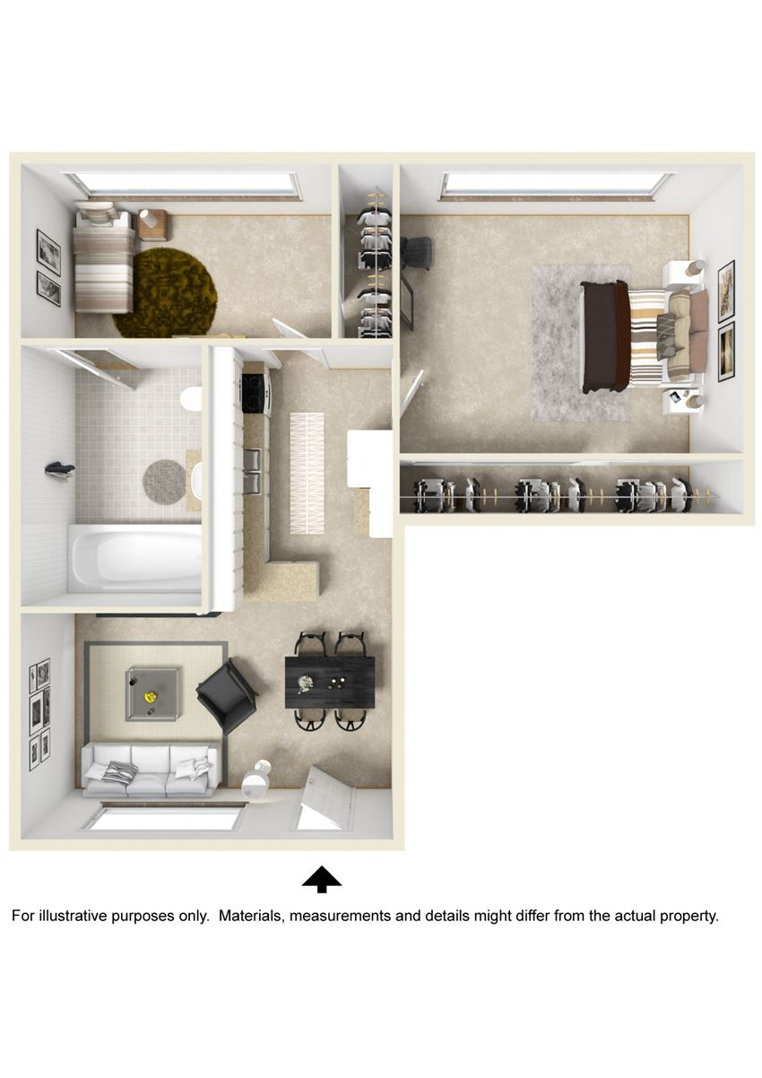 Monticello Skyline Floor Plan