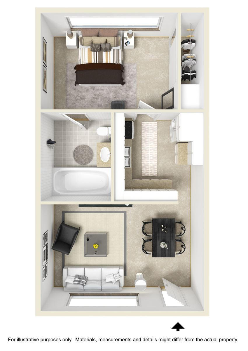 Monticello City Floor Plan