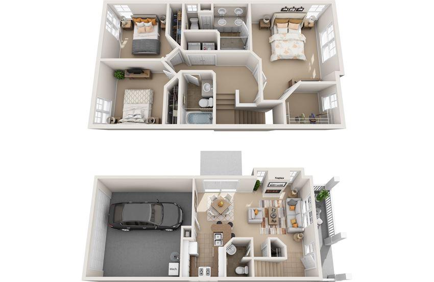 hemlock 3d floorplan