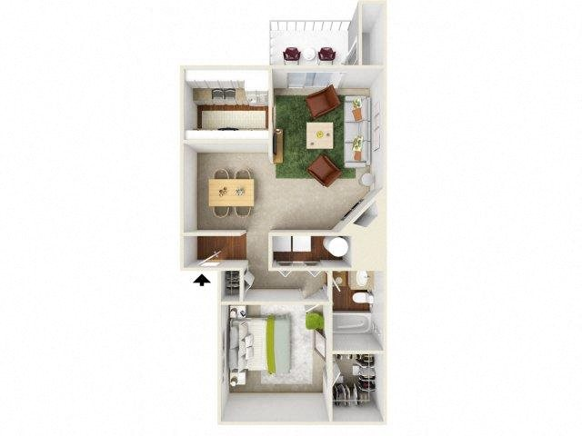 1, 2 & 3-Bedroom Apartments in Hillsboro, OR | Landmark at ...