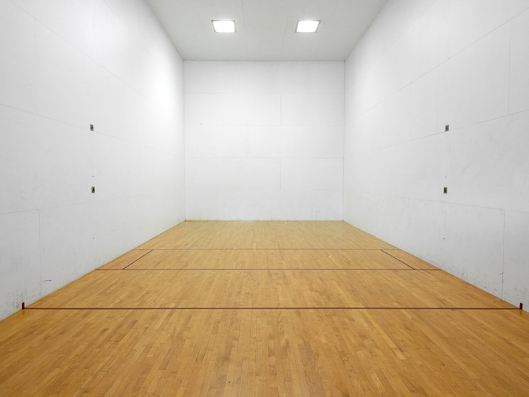 Racquetball court at Landmark at Tanasbourne Apartments in Hillsboro, OR 97124