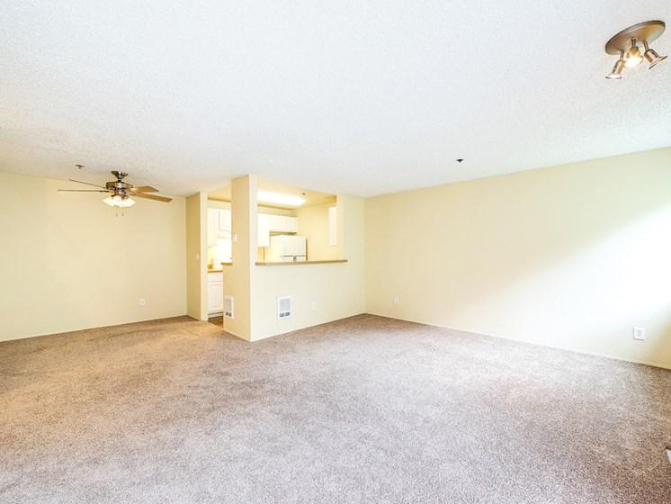 Interior living room carpet