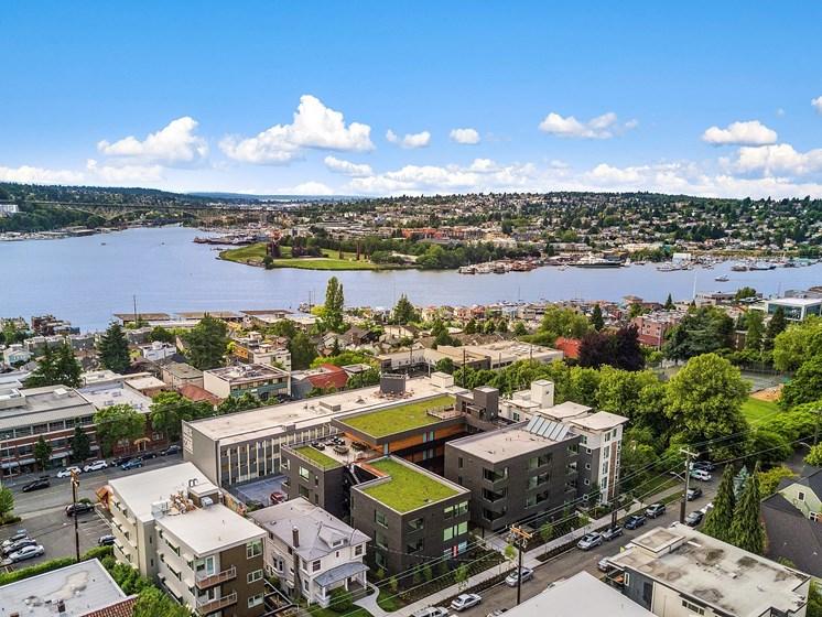 Seattle Views at Shelton Eastlake apartments in Seattle, Washington