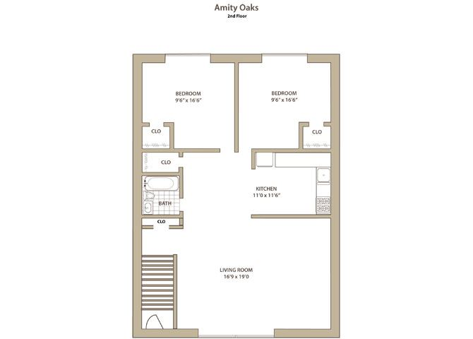 2 bedroom Lower