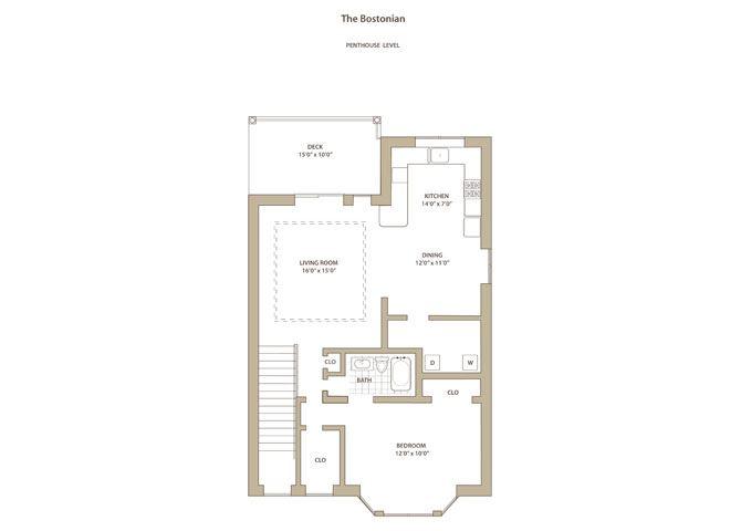 Bostonian I & II - downstairs