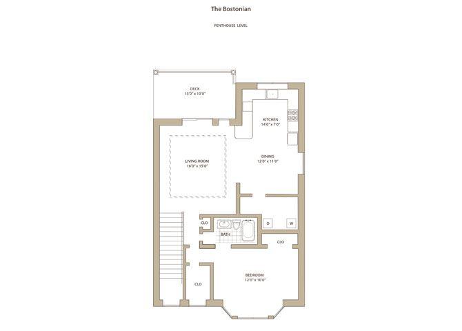Bostonian I & II - upstairs