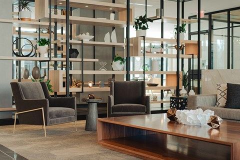 Spacious amenity areas with comfortable seating