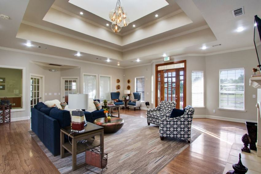 Clubhouse Living Room at Ashford Place Apartment Homes, Flowood, Mississippi, 39232