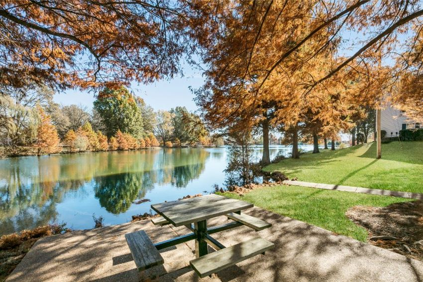 Lakeside Dining Table at The Plantation Apartment Homes, Olive Branch, MS, 38654