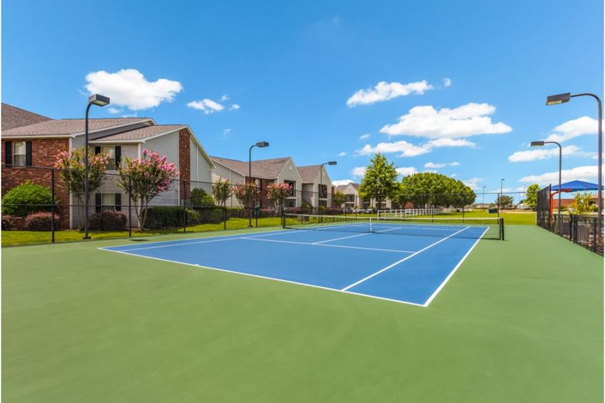 Resort Style Tennis Court at Reserve of Bossier City Apartment Homes, 71111
