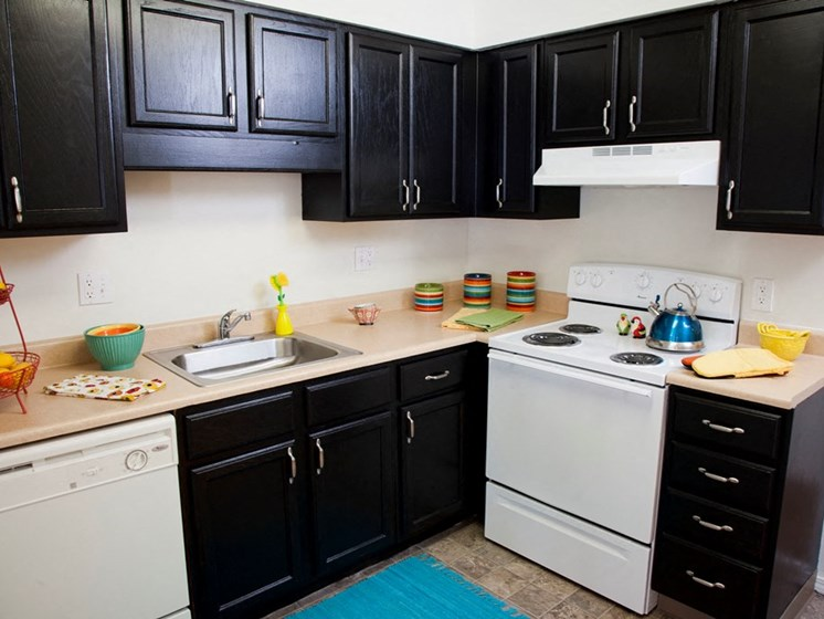 One Bedroom Kitchen at Lawrence Landing, Indianapolis, 46226