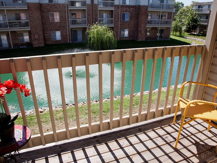 One Bedroom Balcony at Lawrence Landing, Indiana, 46226