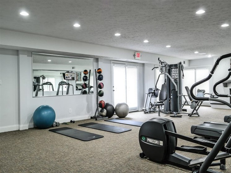 High-Tech Fitness Center at Lawrence Landing, Indianapolis
