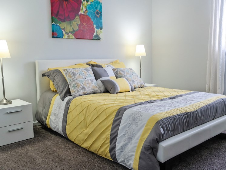 Carpeting In Bedrooms at Lawrence Landing, Indianapolis, 46226