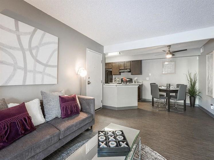 Velo | Denver, CO Apartments | Living Room