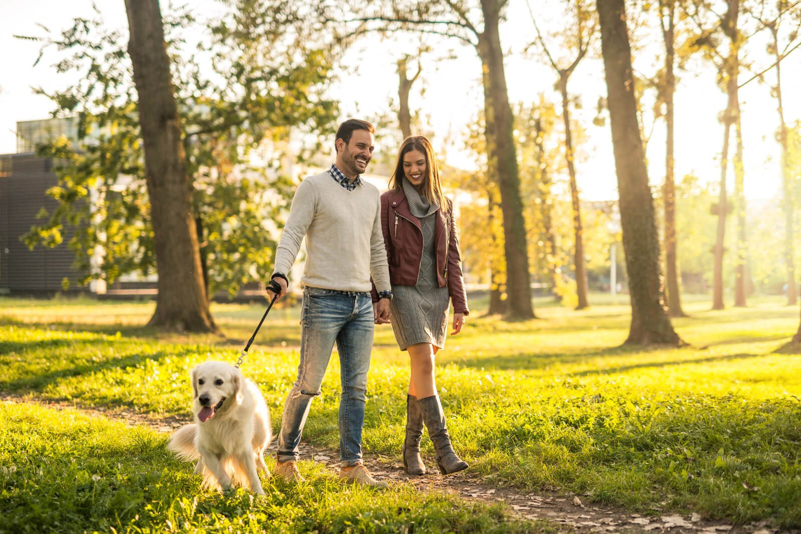 Pet-Friendly Community with Dog Park at Windsor at Oak Grove, Melrose, Massachusetts