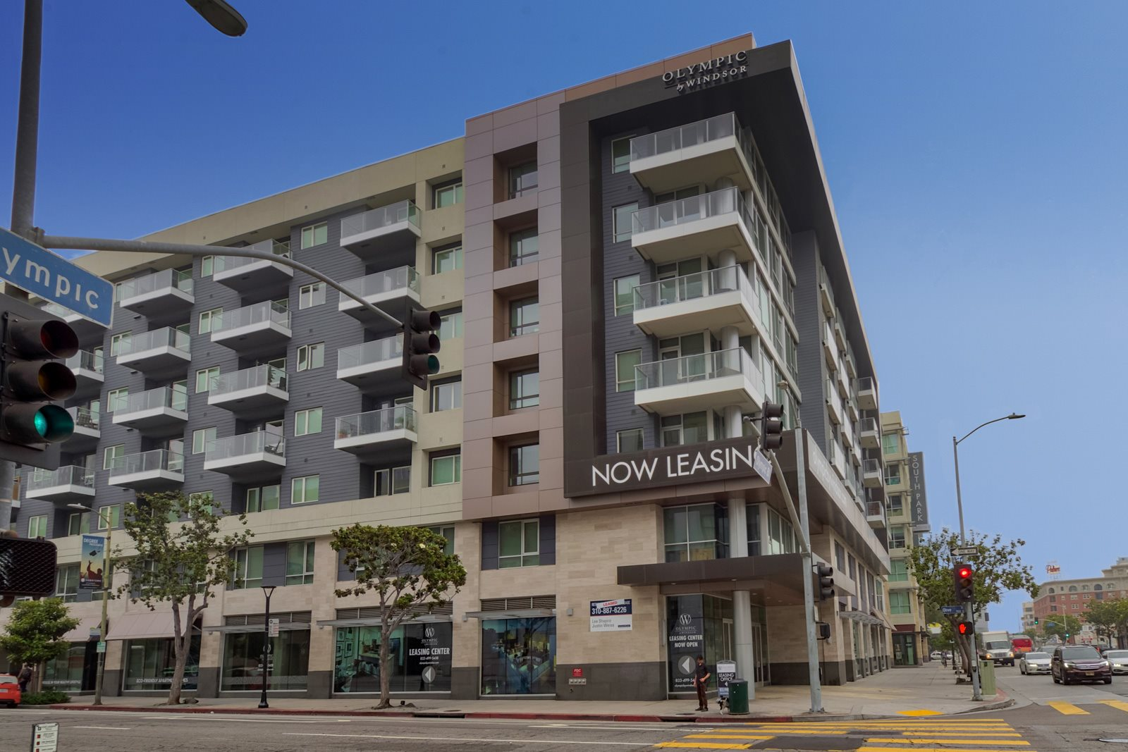 Live in the the Heart of LA at Olympic by Windsor, 936 S. Olive St, Los Angeles