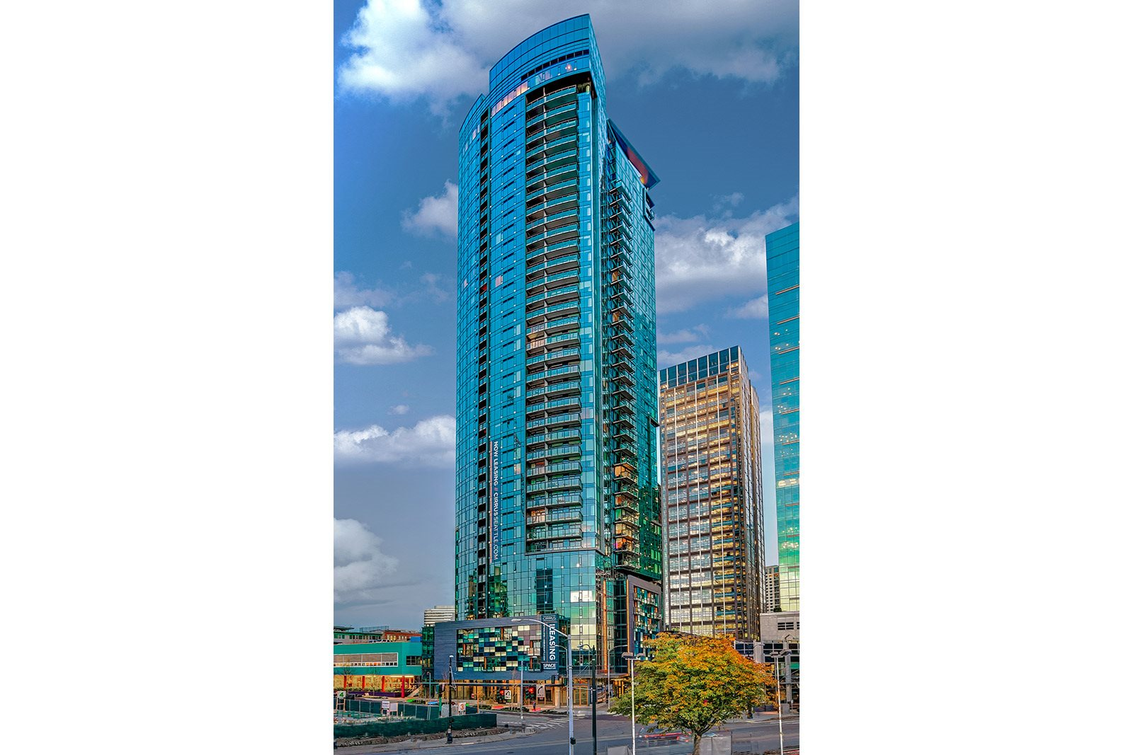 Stylish High Rise Apartment Living at Cirrus, Seattle, WA
