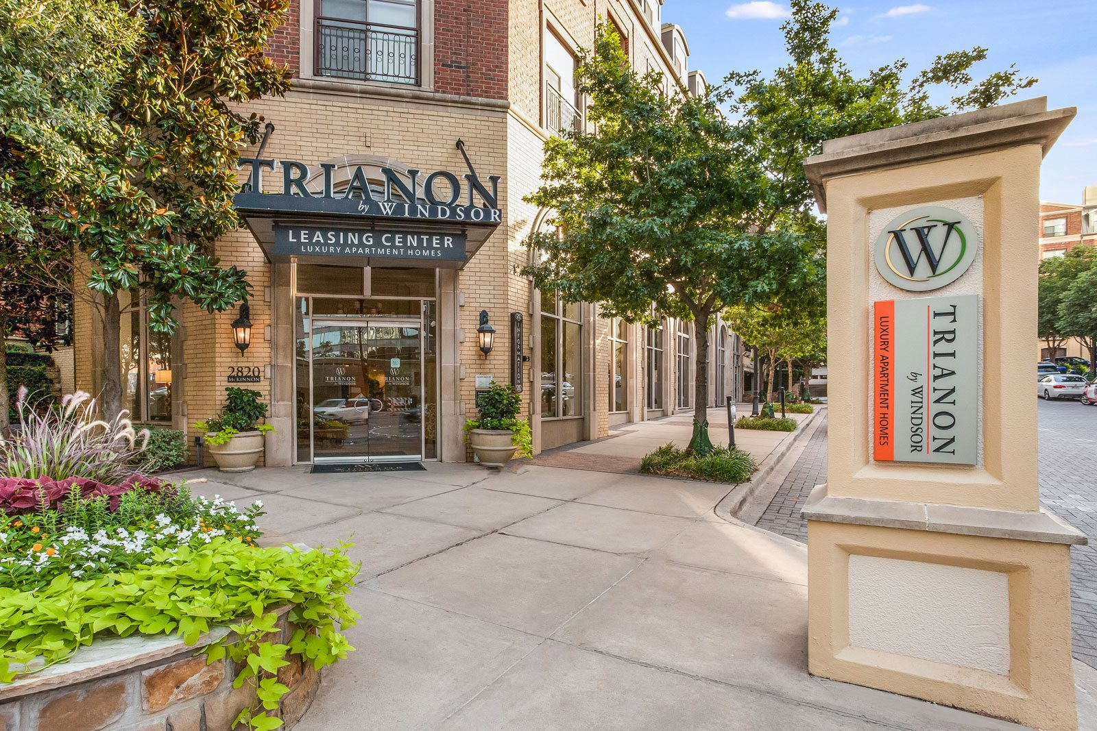 Resort-Style Community with Tree-Lined Streets at Trianon by Windsor, Dallas, TX