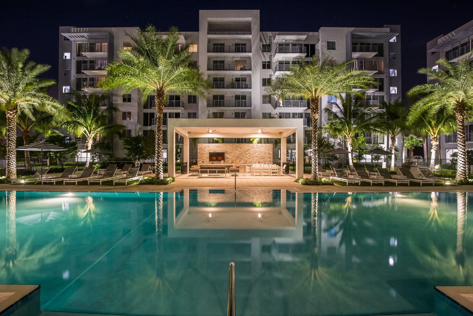 Resort-Style Pool at Allure by Windsor, 6750 Congress Avenue, FL