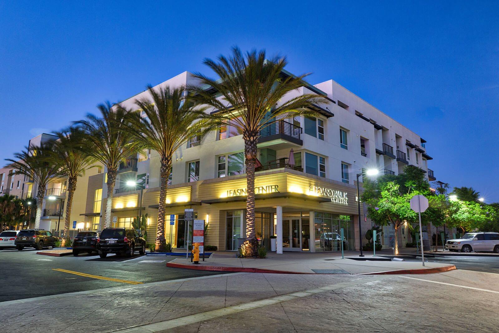 Street View of Building at Boardwalk by Windsor, Huntington Beach, California
