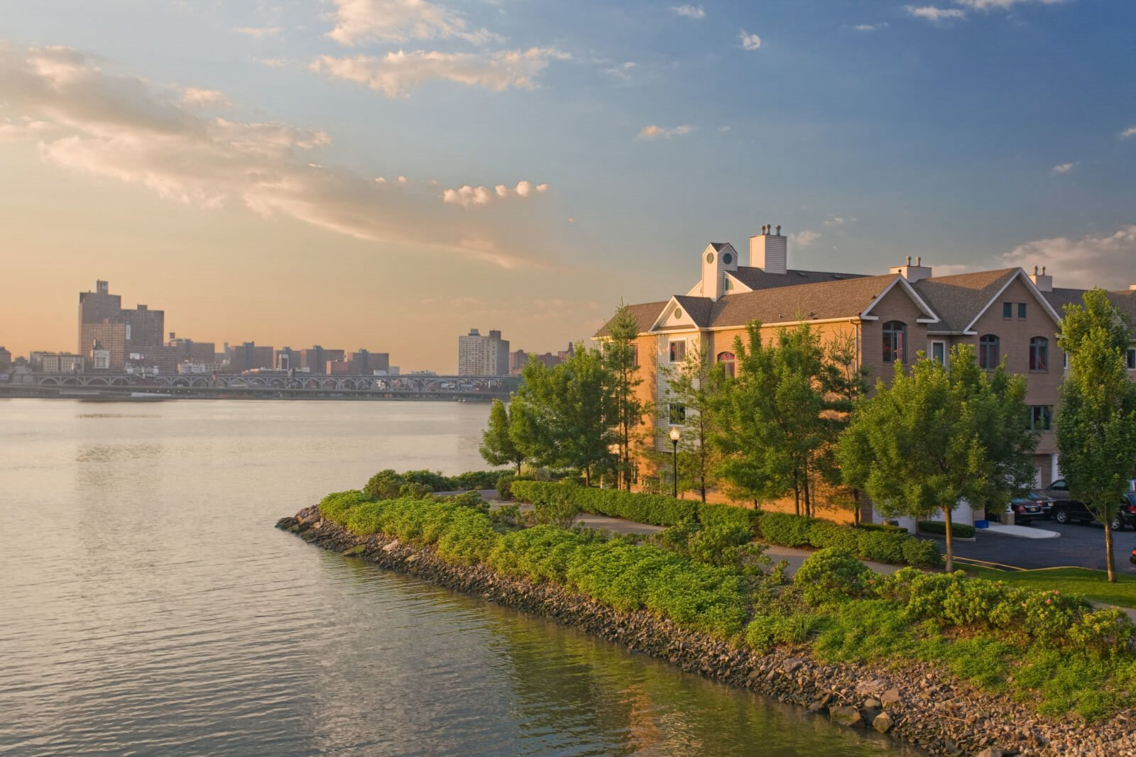 Convenient Mid-Rise Living at Windsor at Mariners, Edgewater, New Jersey