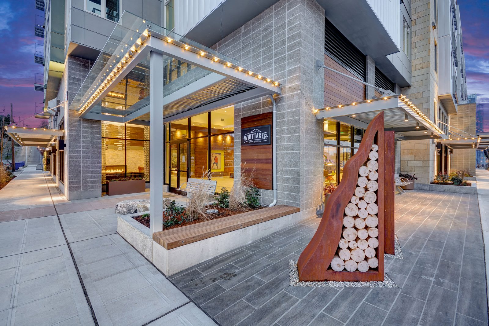 Amazing Outdoor Spaces at The Whittaker, Washington, 98116