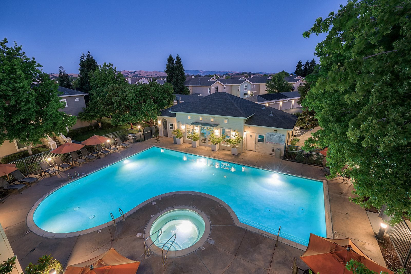 Views of Pleasanton Ridge at The Kensington, Pleasanton, California