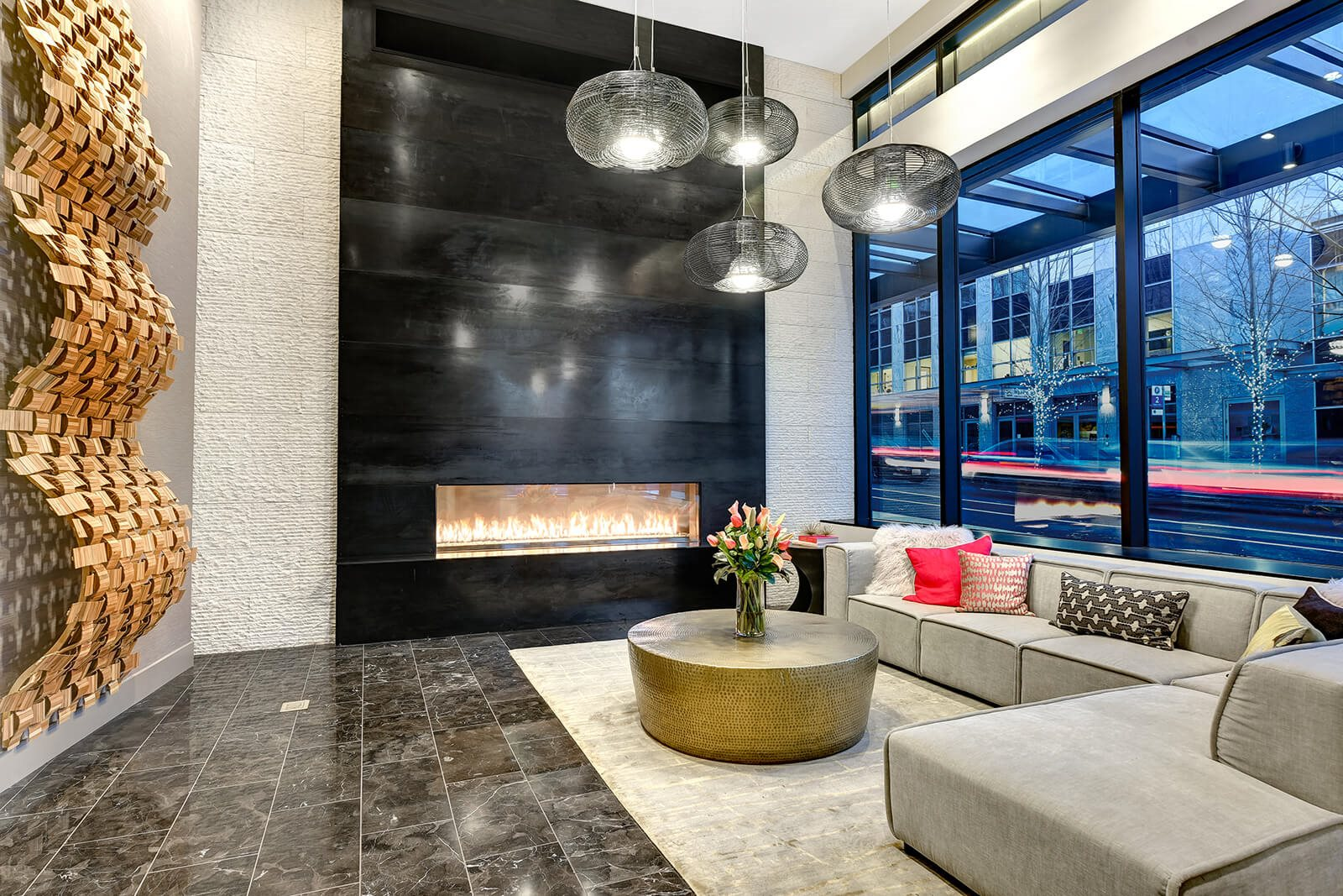 Picturesque Lobby at Cirrus, Seattle, 98121