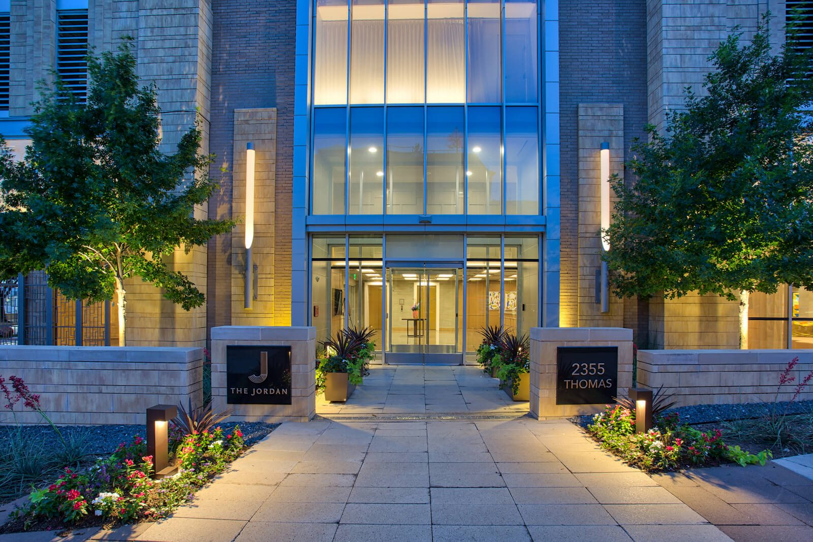 Controlled Access Building and Keyless Apartment Entry at The Jordan by Windsor, Dallas, 75201