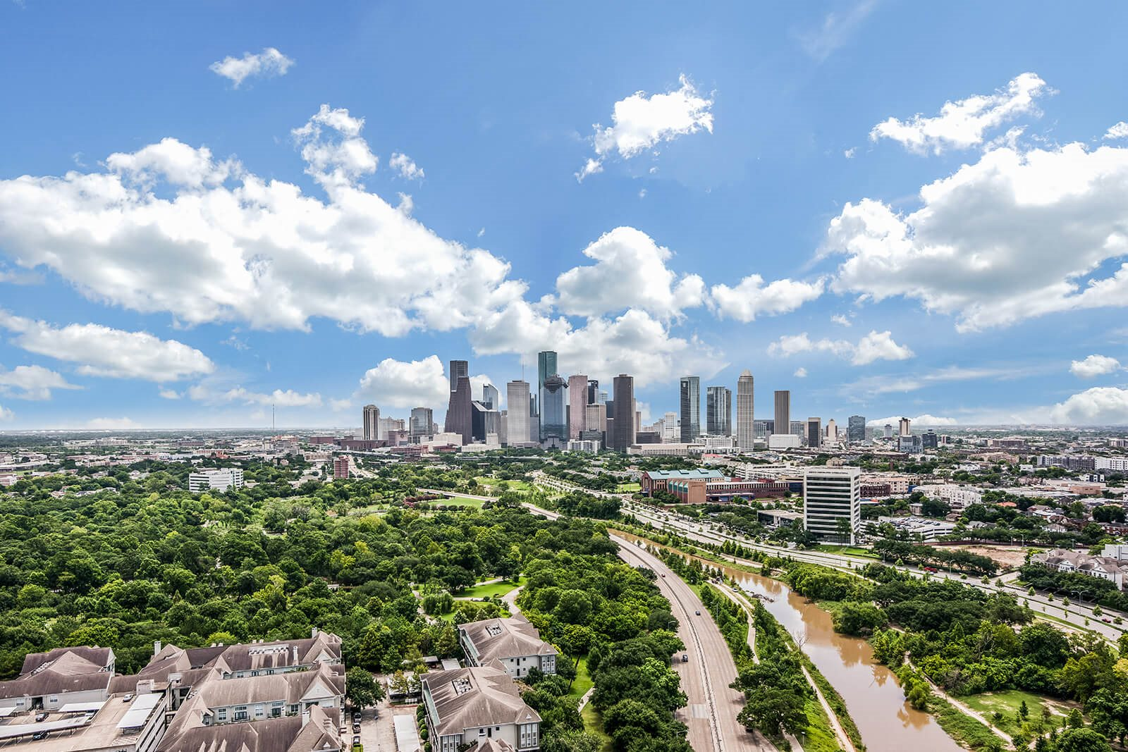 Views of Downtown Houston at Memorial by Windsor, Houston, 77007