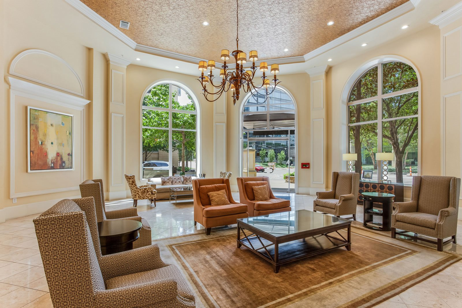 On-Site Management Available Every Day at Trianon by Windsor, Dallas, 75201