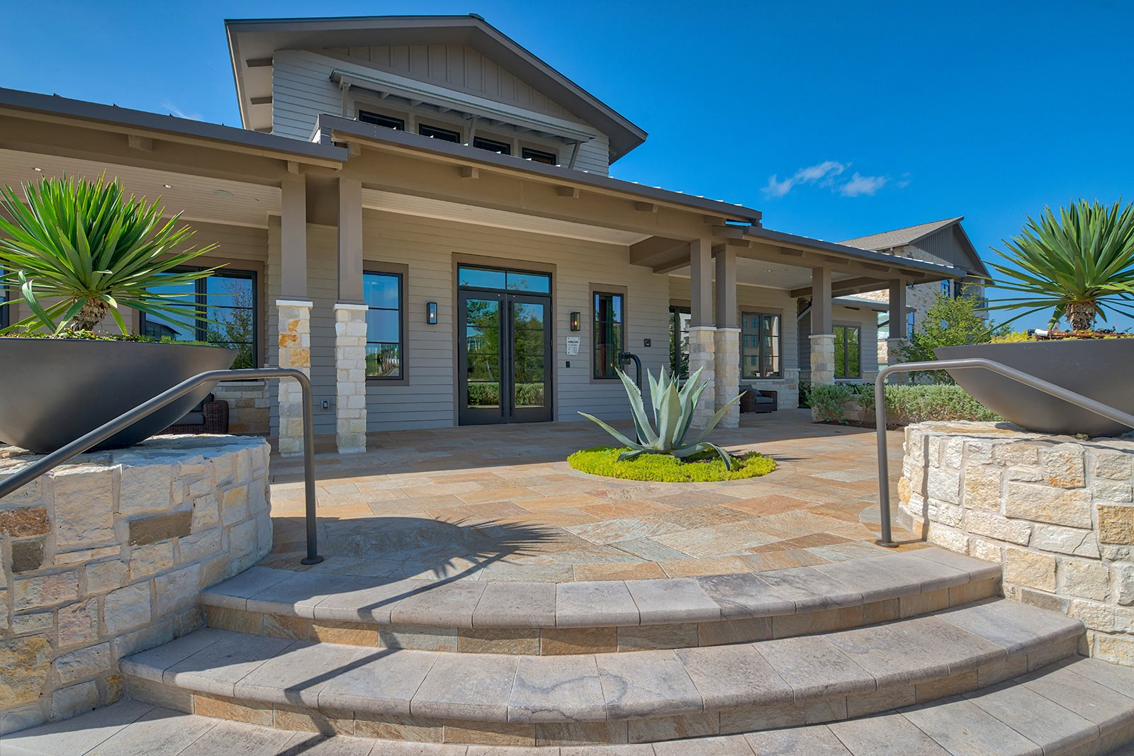 Clubhouse and Leasing Office at Windsor Lantana Hills, Austin, 78735