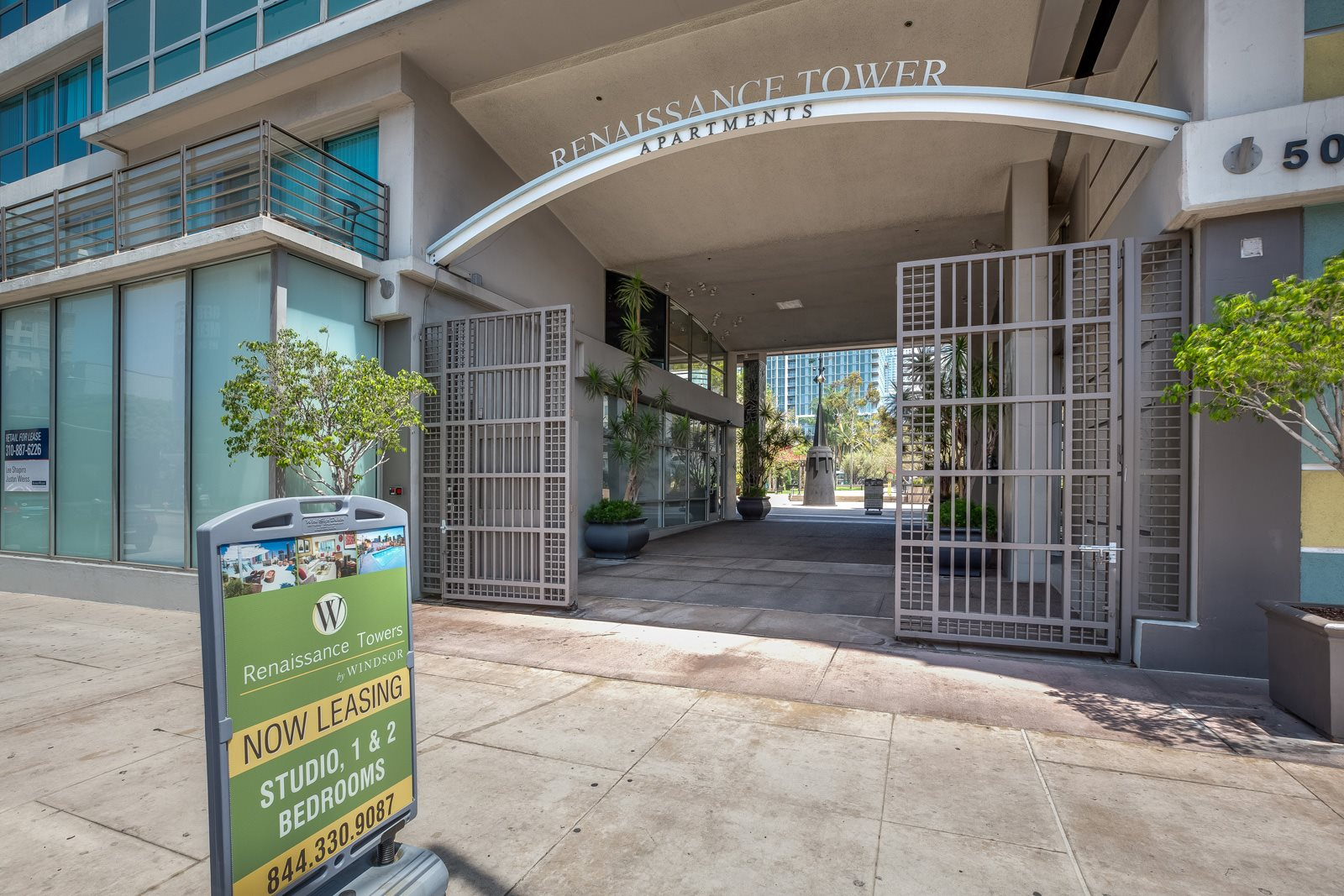VIP Tours Available at Renaissance Tower, 501 W. Olympic Boulevard, CA