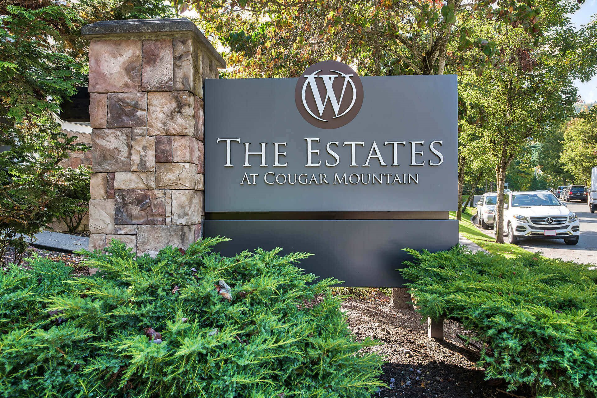 Our office is open 7 days a week to assist you, at The Estates at Cougar Mountain, 2128 Shy Bear Way NW, Issaquah