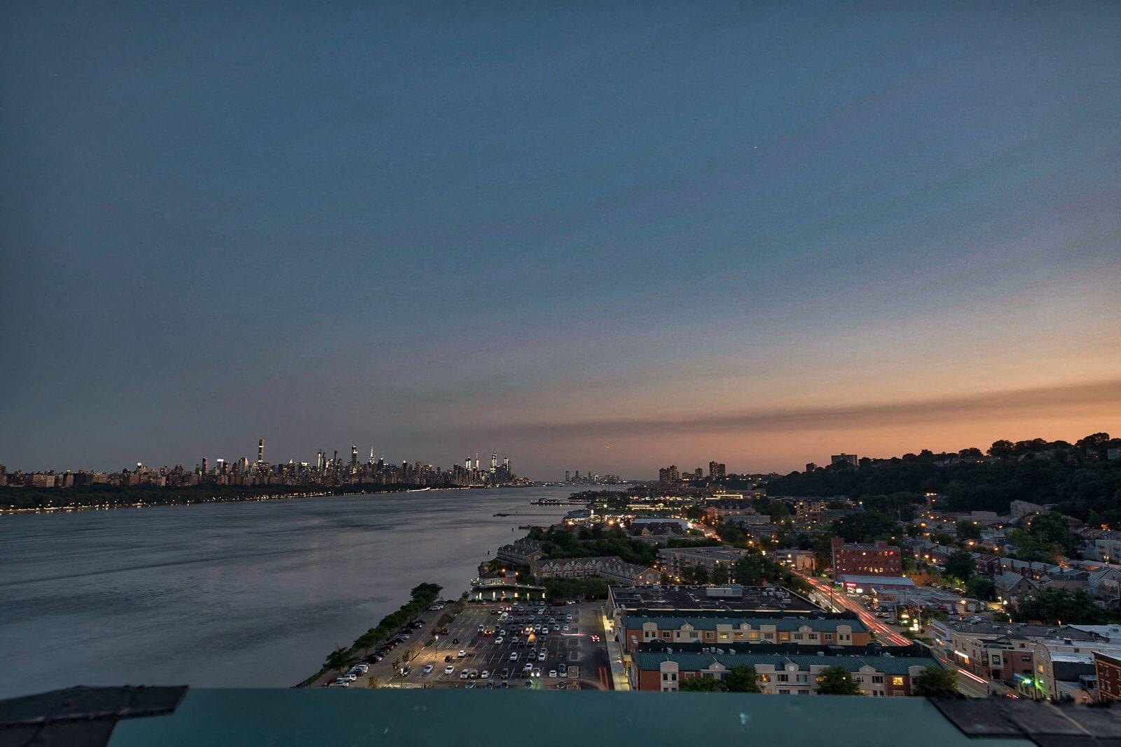 NYC Skyline View at Windsor at Mariners, 07020, NJ