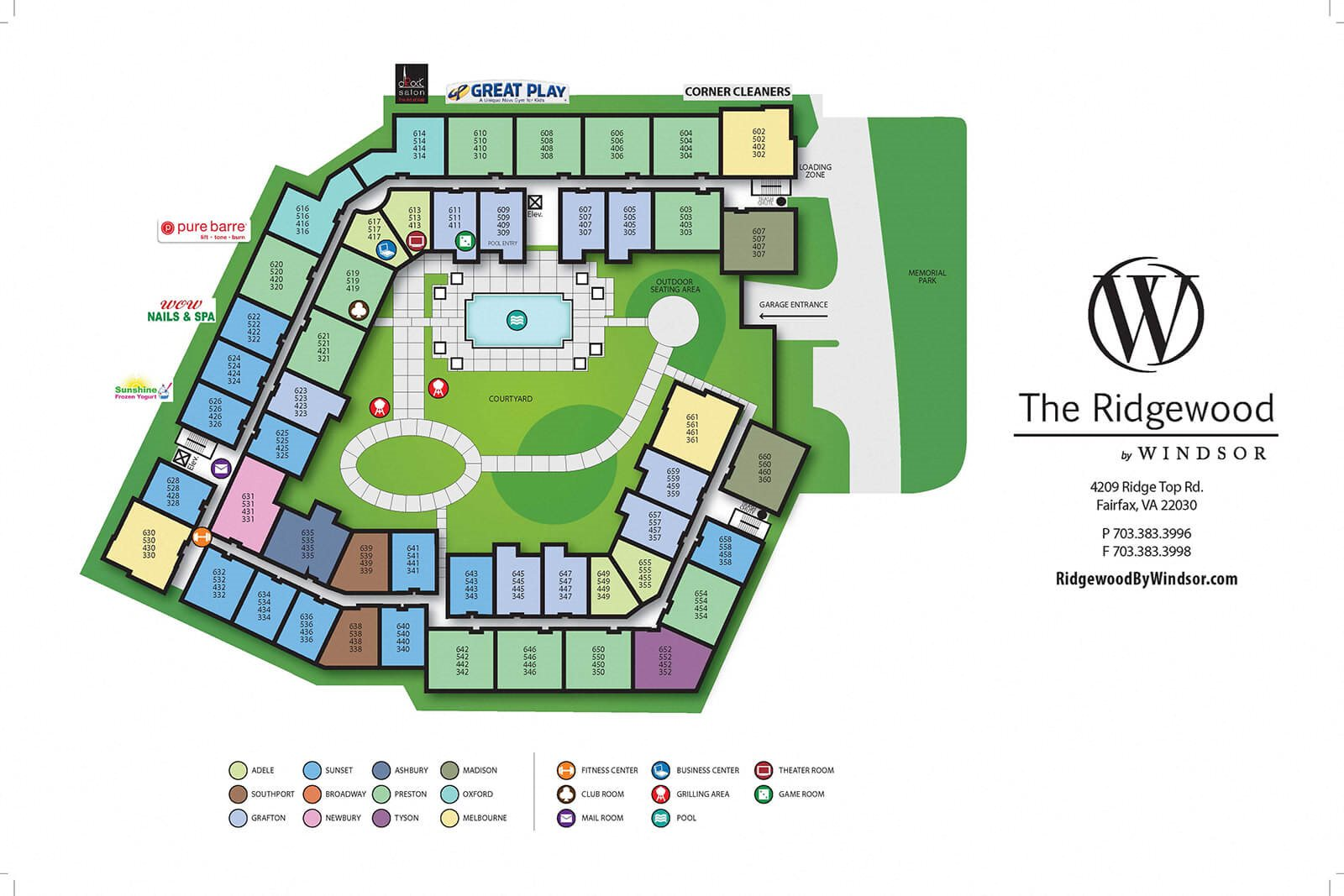 Two Deluxe Amenity Packages at The Ridgewood by Windsor, 4211 Ridge Top Road, VA