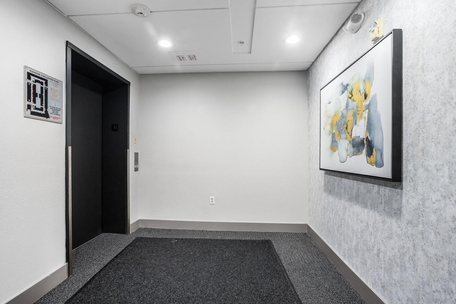 Elevators at The District, Denver CO