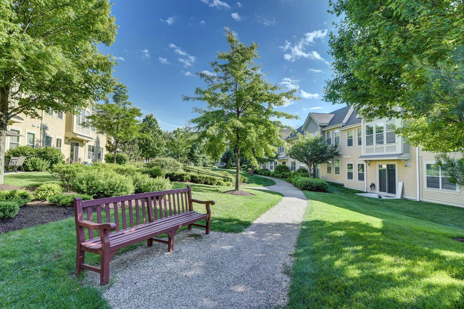 Courtyard Garden at Windsor at Oak Grove, Melrose, MA `