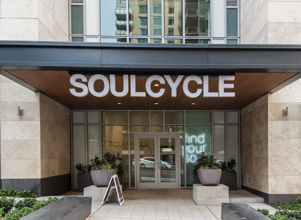 Spin Class at SoulCycle Downstairs at Stratus, Seattle, WA