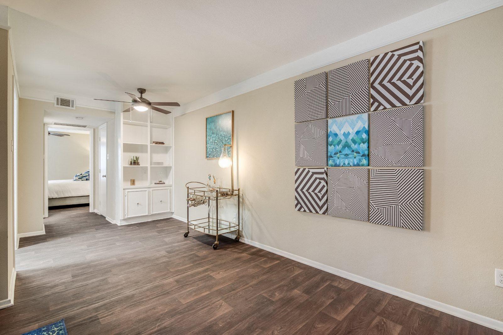 Open-Concept Floor Plans at Allen House Apartments, Houston, TX