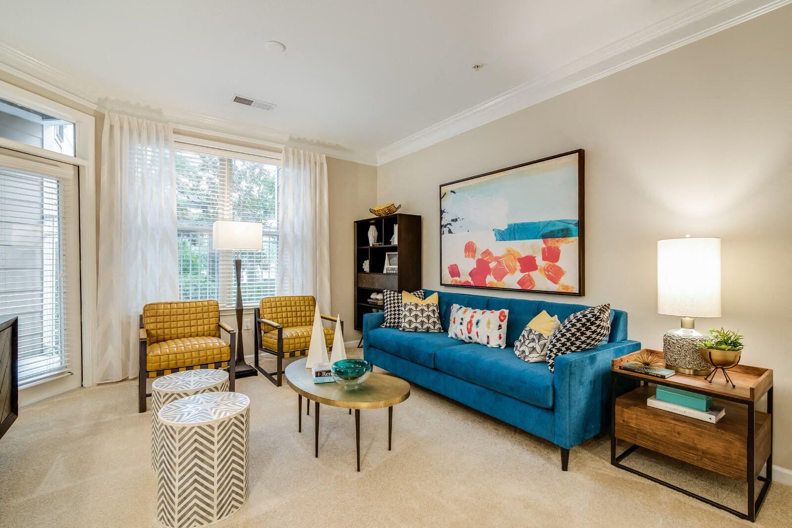 Patios & Balconies in Select Apartments at Windsor at Contee Crossing, Laurel, 20707