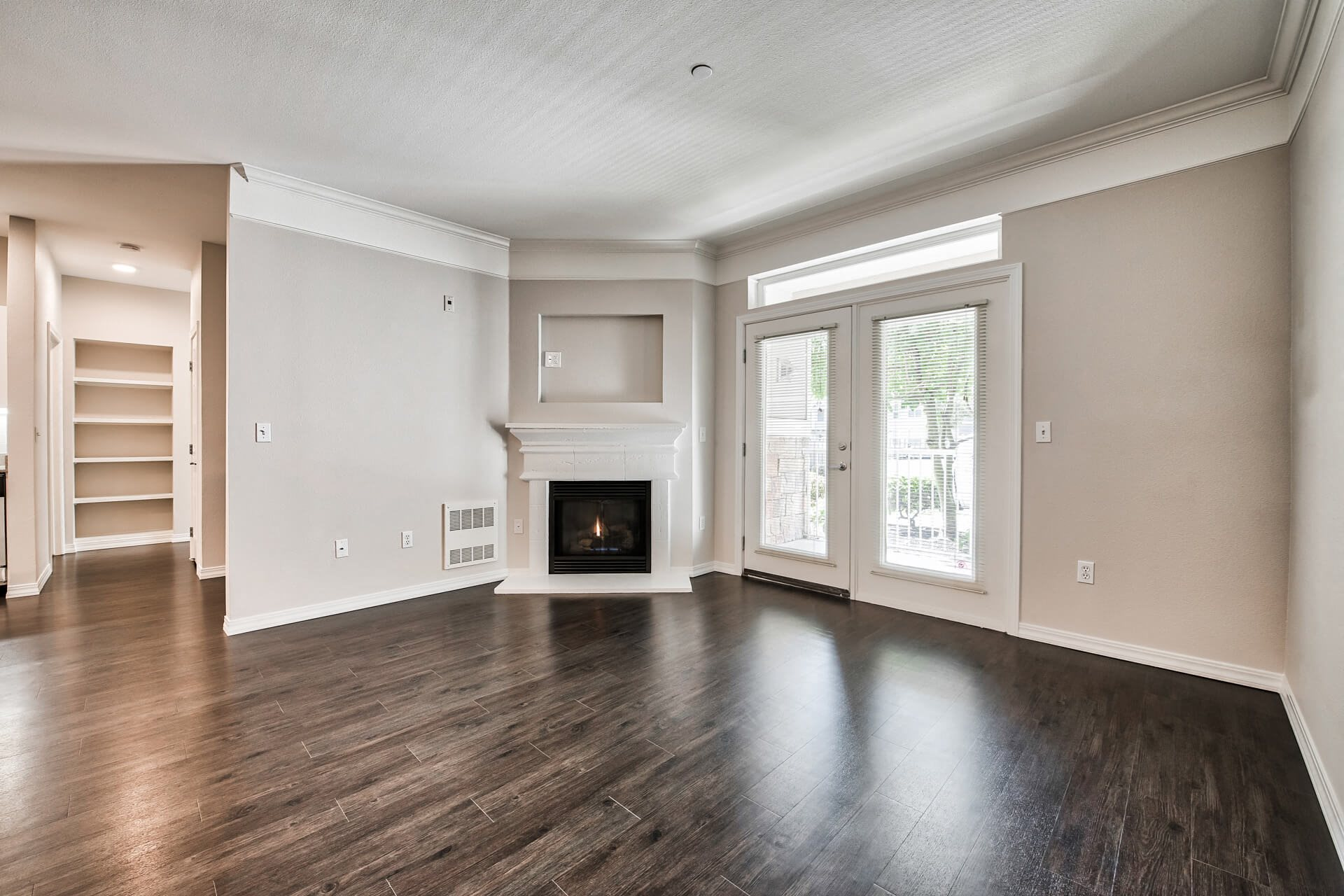 Living spaces, at The Estates at Cougar Mountain, Washington, 98027