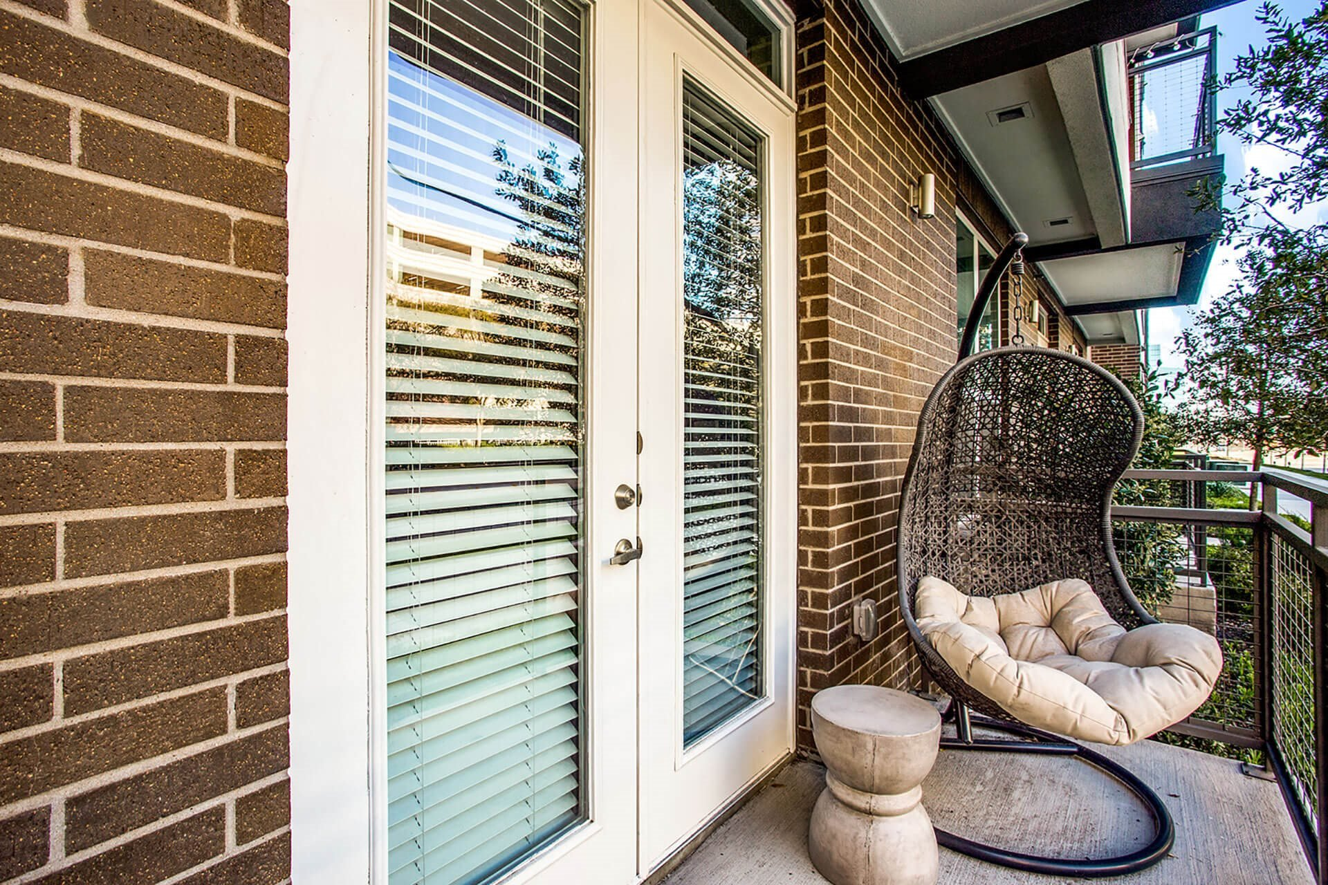 Oversized Private Balconies at Windsor by the Galleria, 13290 Noel Rd, Dallas