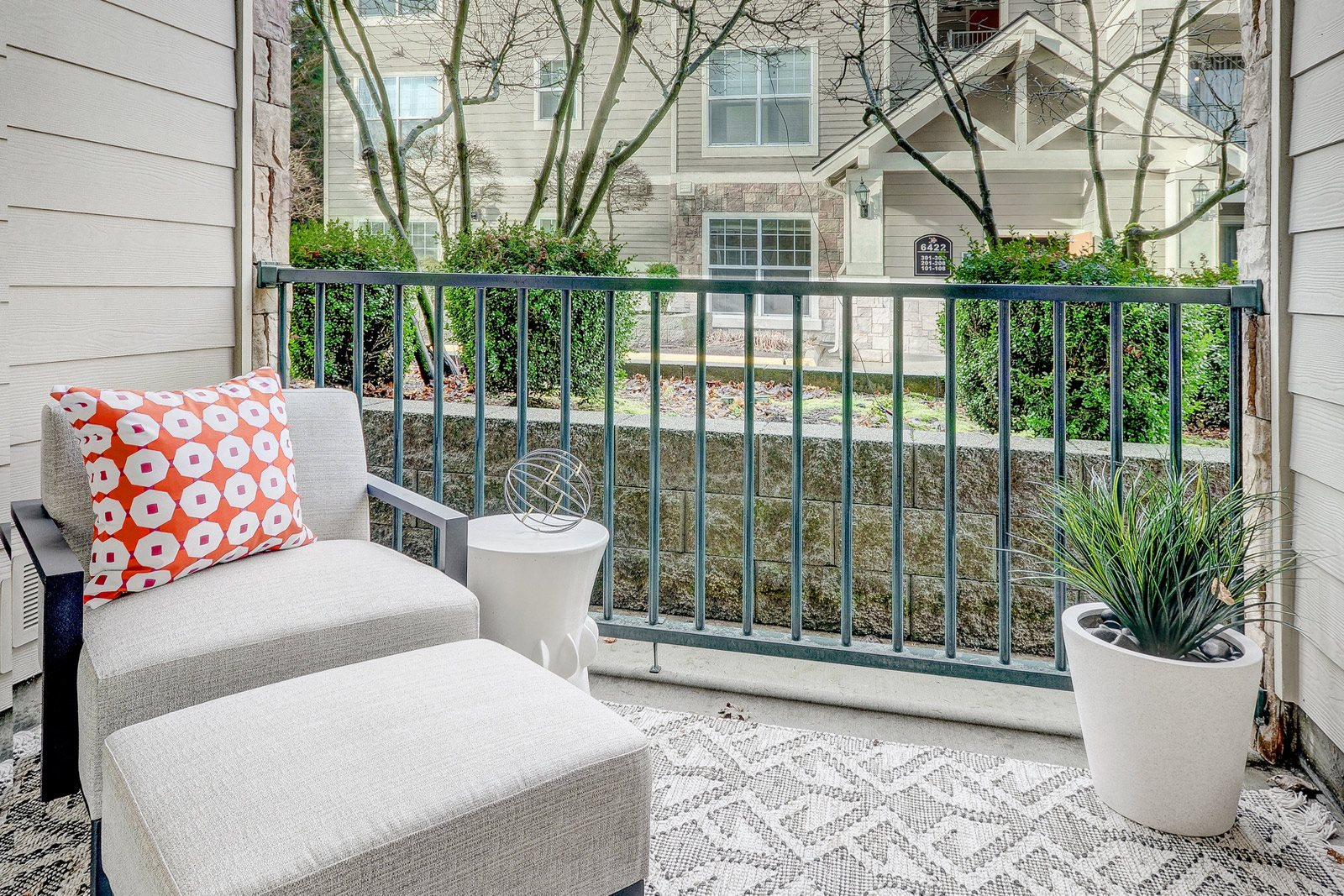 Private Patios Available at Reflections by Windsor,  Redmond, 98052