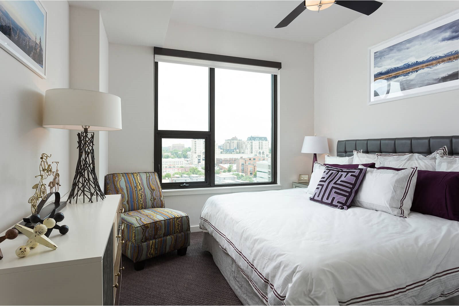 Spacious, Bright Bedroom at 1000 Speer by Windsor, 80204, CO