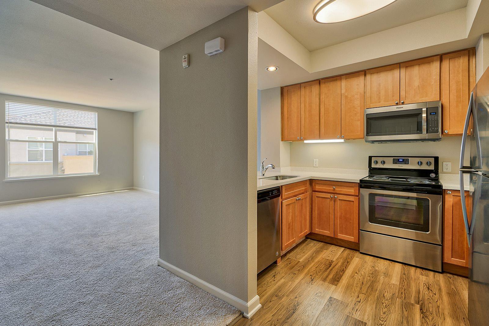Designer Granite Countertops at Villa Montanaro,203 Coggins Drive Pleasant Hill, California, 94523