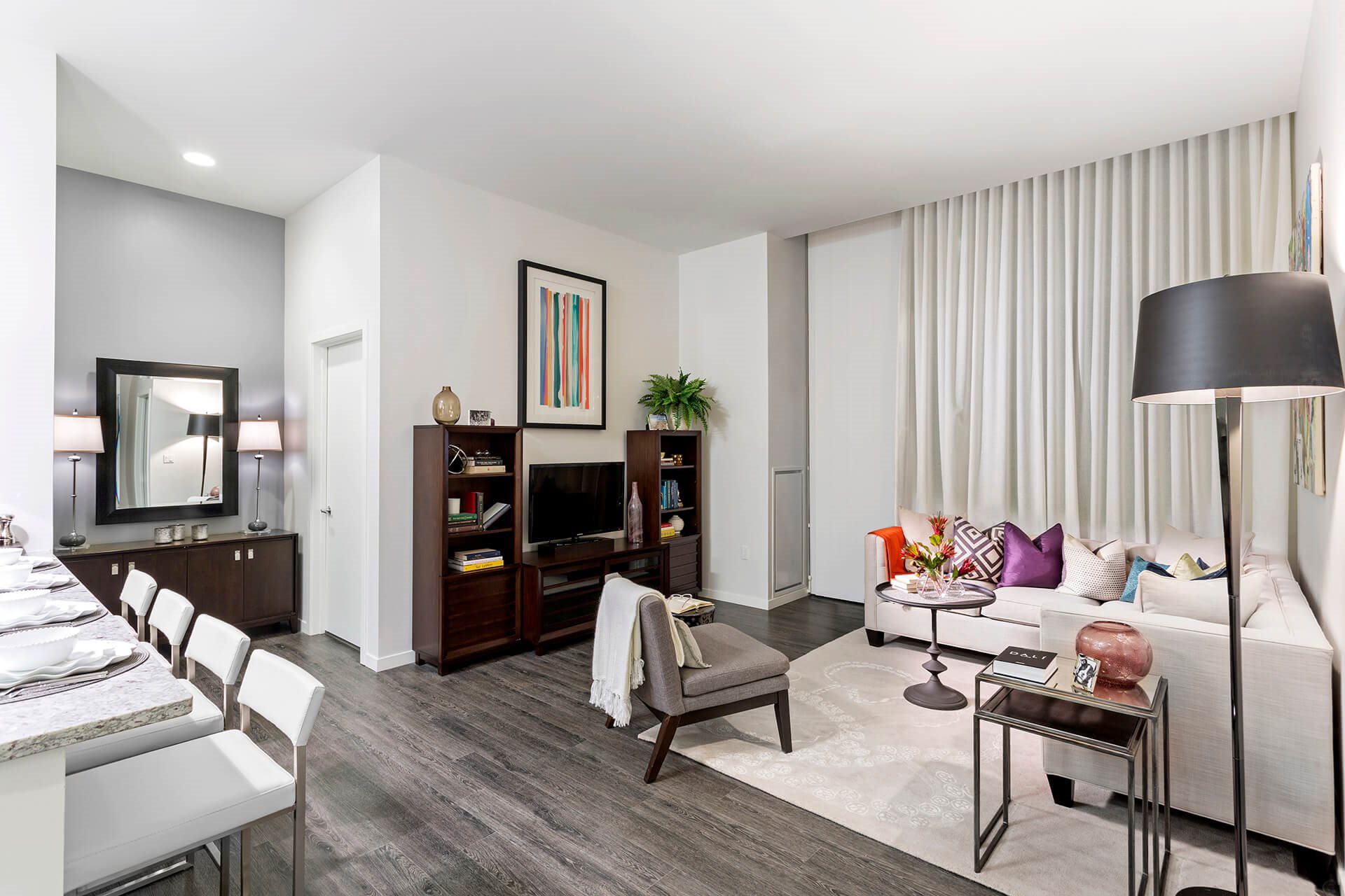 Wood-Style Plank Flooring at Waterside Place by Windsor, Boston, 02210