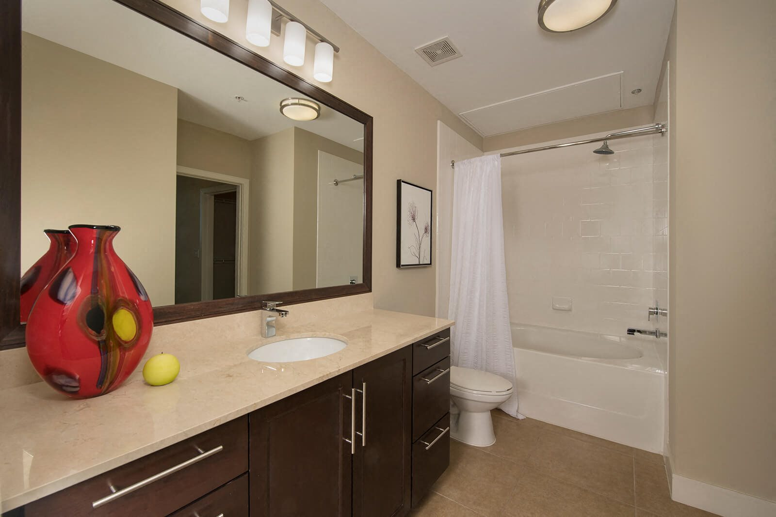 Dual Vanities in Bathrooms at Memorial by Windsor, Houston, TX