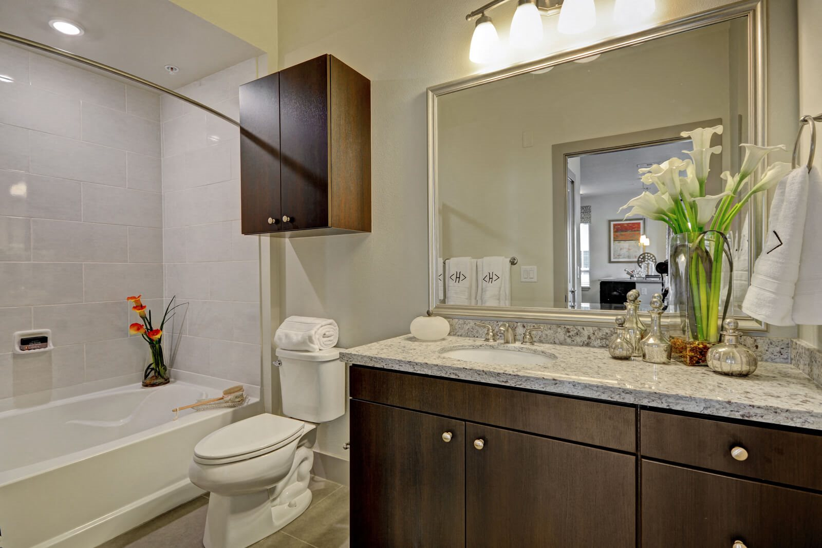 Large, Spa-Inspired Bathrooms at South Park by Windsor, Los Angeles, California